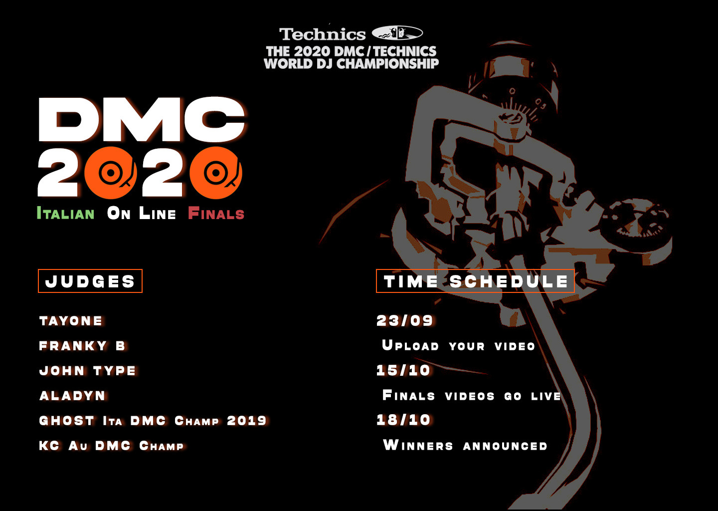 (Italiano) DMC 2020 Finali Italiane On line